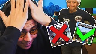 Reacting to My Old Minecraft Videos...