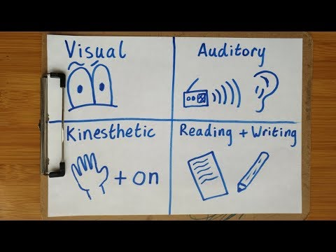 What kind of learner are you? - The 4 different learning styles