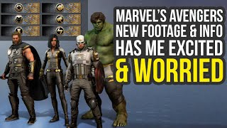 Marvel Avengers Game - New Footage, Outfits, Major New Details & More (Avengers Project)