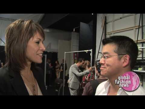 Peter Som Spring / Summer 2008  Women's Interview | Global Fashion News