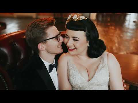 Eve and Rich / A Classic Vintage Glitzy Winter Wedding / The West Mill Derby