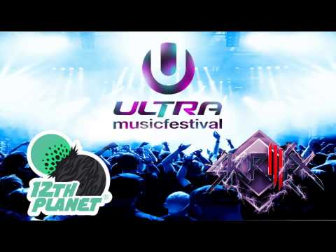 12th Planet & Skrillex at Ultra Music Festival 2012 - Full Set - HD