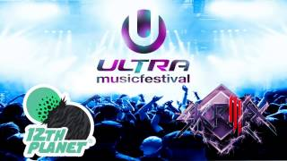 12th Planet & Skrillex at Ultra Music Festival 2012 - Full Set - HD
