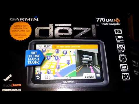 Garmin Dezl 770 Step by Step Review