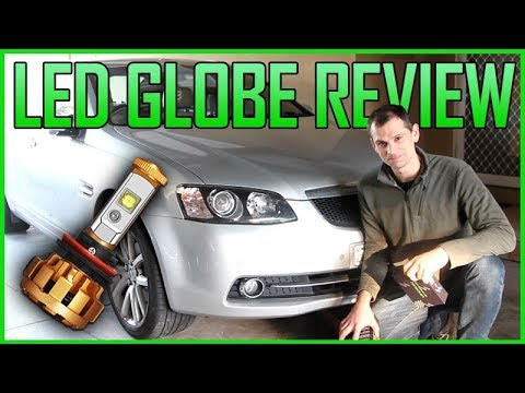 LED GLOBE SHOWDOWN - AUXBEAM vs GENERIC EBAY