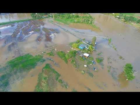 RDOS Spring Flooding   Rural Keremeos   May 10, 2018