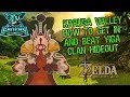 ZELDA BOTW how to get in and complete Karusa Valley Yiga Clan Hidout HD