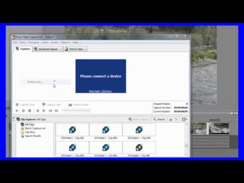 Learn Sony Vegas Pro - 25 How to capture media from DV in Sony Vegas Pro