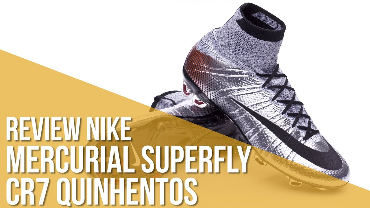 0905bc4360d0 Review Nike Mercurial Superfly CR7 Quinhentos - YouTube