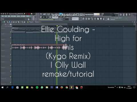 How to make a typical KYGO melody/chord (Ellie Goulding - High for this (Kygo Remix) Remake)