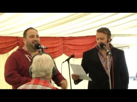 Wynne Evans(Go Compare)   It's Now Or Never@Porthcawl Elvis Fest 2013