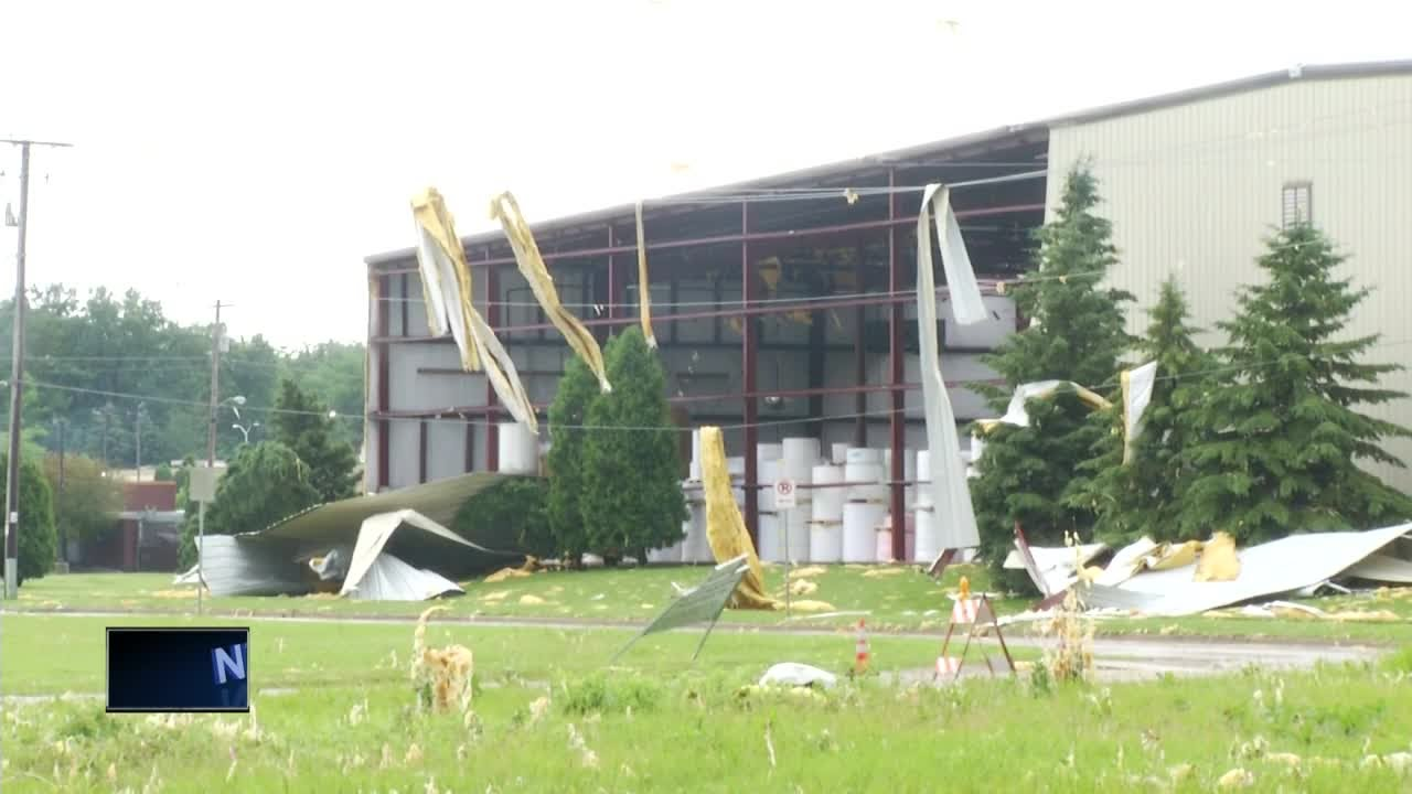 Car Wash Roof Lands On House Roof As Storms Rip Through Appleton