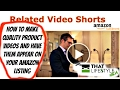 HOW TO MAKE AMAZON FBA PRODUCT VIDEOS INEXPENSIVELY WITHOUT LEAVING THE HOUSE - THE RIGHT WAY!