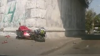 Motorcycle Crashes, Motorcycle accidents Compilation 2016 #6