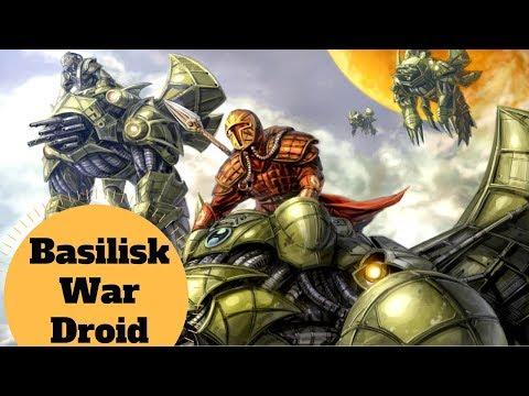 The Mandalorian War Mount - Basilisk War Droid Explained - Star Wars Mandalorian Ship Lore