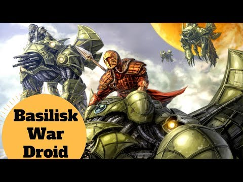 The Mandalorian War Mount  Basilisk War Droid Explained  Star Wars Mandalorian Ship Lore
