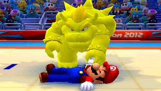 Mario & Sonic at the London 2012 Olympic Games (3DS) - All Bosses & Endings