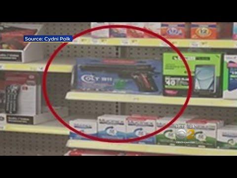 Dollar Store Pulls BB Gun After Customer Complains