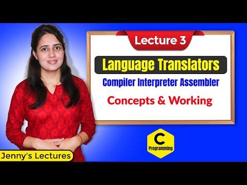 C_03 Language translators   Compiler   Interpreter   Assembler   Programming in C