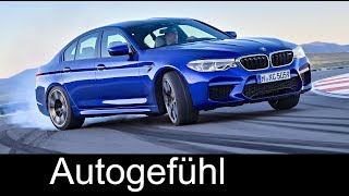 All-new BMW M5 XDrive Preview Sound/Exterior/Interior F90 5-Series M 2018