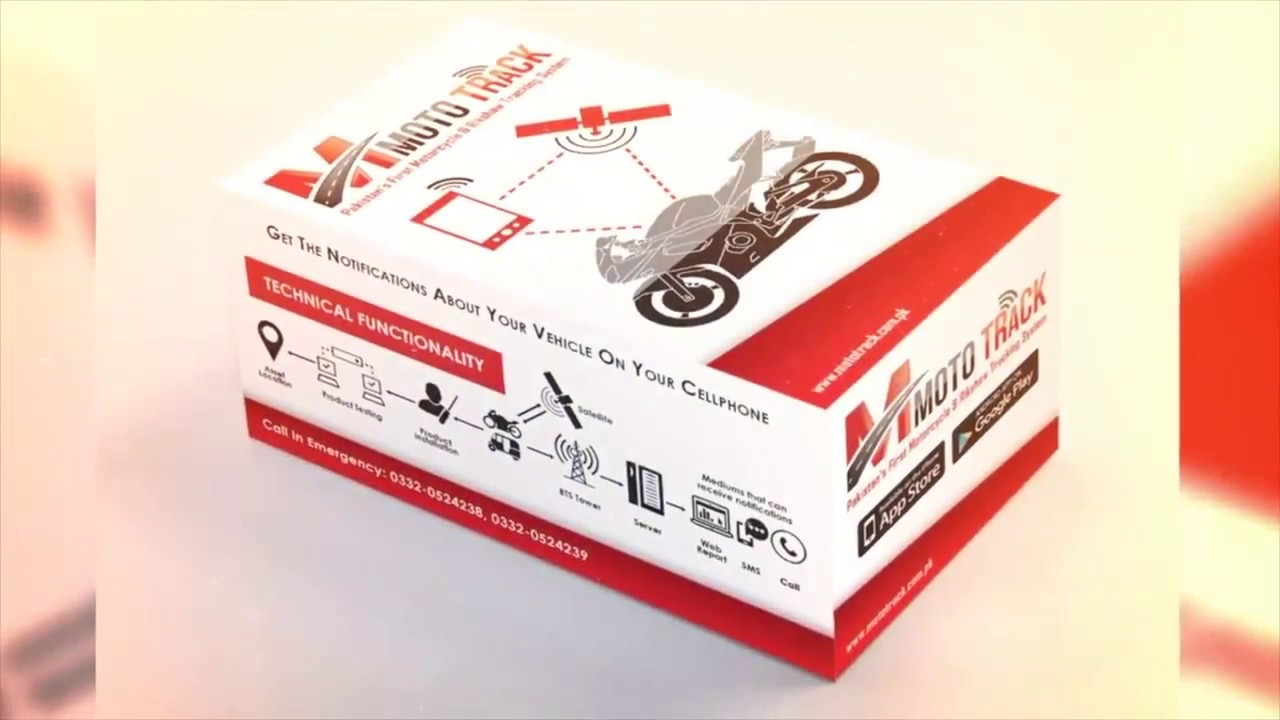 Mototrack Motorcycle Tracking Device System Launched In Pakistan