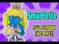 3D MODULAR ORIGAMI #144 SMURFETTE FULL VERSION (NOT FAST)
