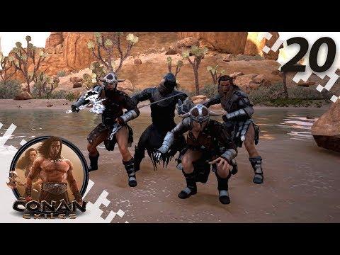 CONAN EXILES: THE FROZEN NORTH - Undead Dragon Fight! - EP20