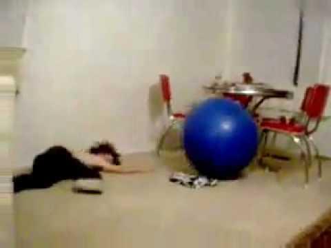 Big Blue Ball Accident Fail