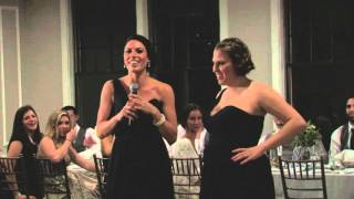 Nick & Renee Greenwood's Wedding - Allyson & Meaghan's Toast
