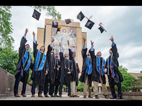 The 172nd Commencement Ceremony at the University of Notre Dame (2017)