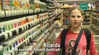 sztv Reportage: Wie junge Blinde die Welt entdecken (1/6) - Äpfel sind rund