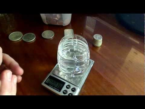 Testing Silver - weight scales, magnets, & specific gravity
