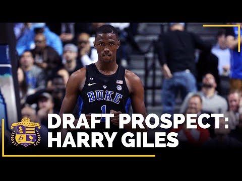 2017 NBA Draft Profile: Harry Giles (Duke, Center)