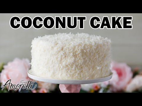 How To Make Coconut Cake   SImple Coconut Cake Recipe