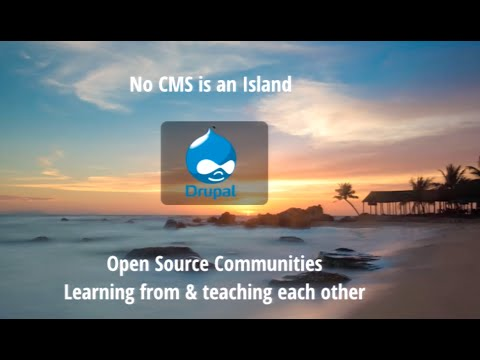 No CMS is an Island, Entire of Itself; What open source communities can teach each other by Dee Teal
