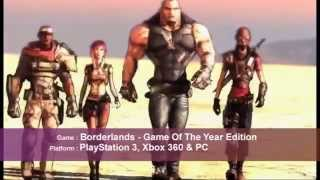 Review: Borderlands- Game Of Year Edition
