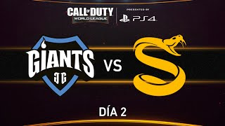 [GIA] Giants Gaming vs [SPL] Splyce - CWL - Semana 1 - Día 2
