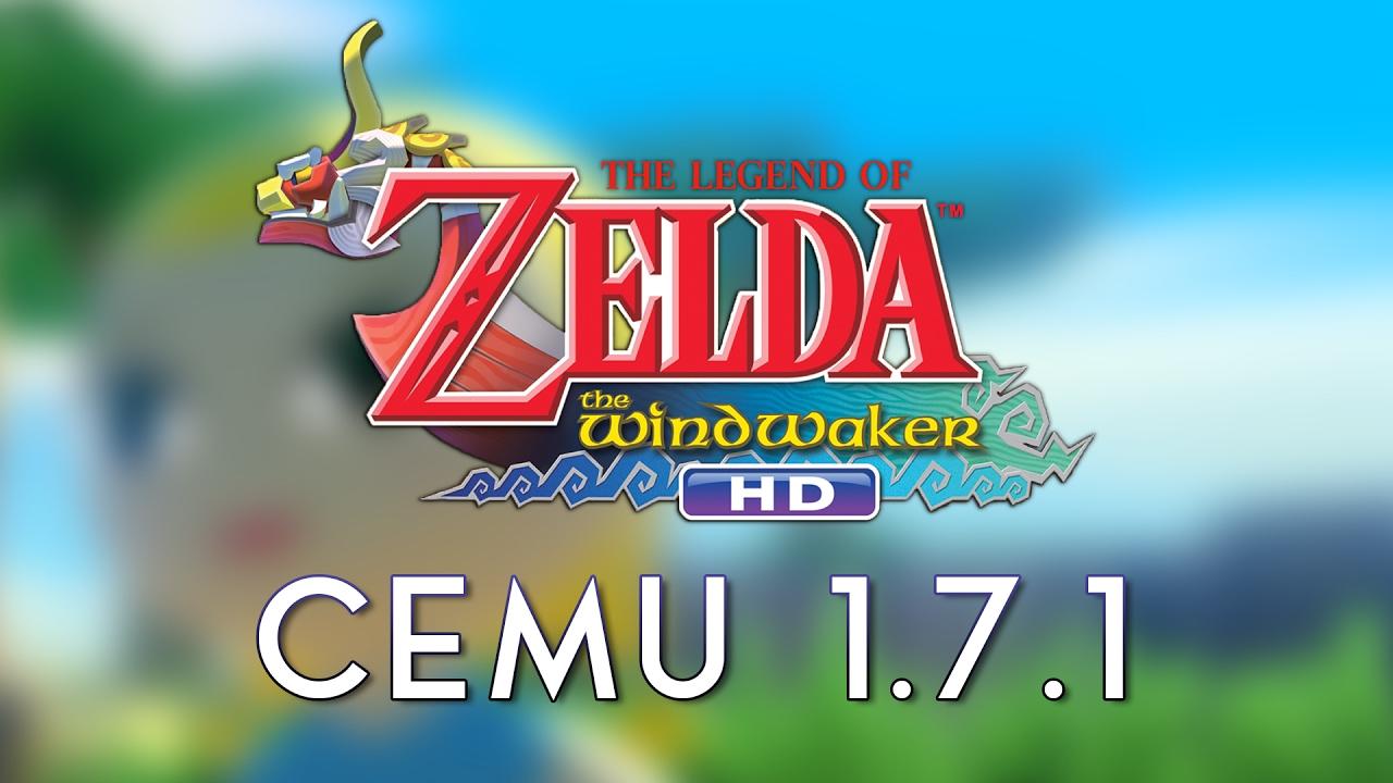 Cemu 1 7 1 Legend Of Zelda Wind Waker Intel I3 6100 Gtx 1050