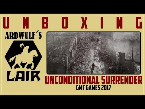 Unboxing Unconditional Surrender, Second Printing (GMT 2017)