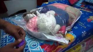 Vacuum Bag penghemat tempat | Cara Pakai Vakum Bag
