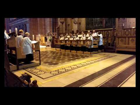 Liverpool Cathedral - Sunday's Holy Eucharist
