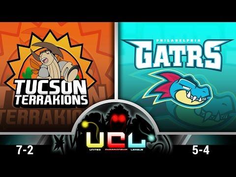 Pokémon ORAS LIVE Wi-Fi Battle [UCL S1W10] Tucson Terrakions vs Philadelphia Feraligatrs