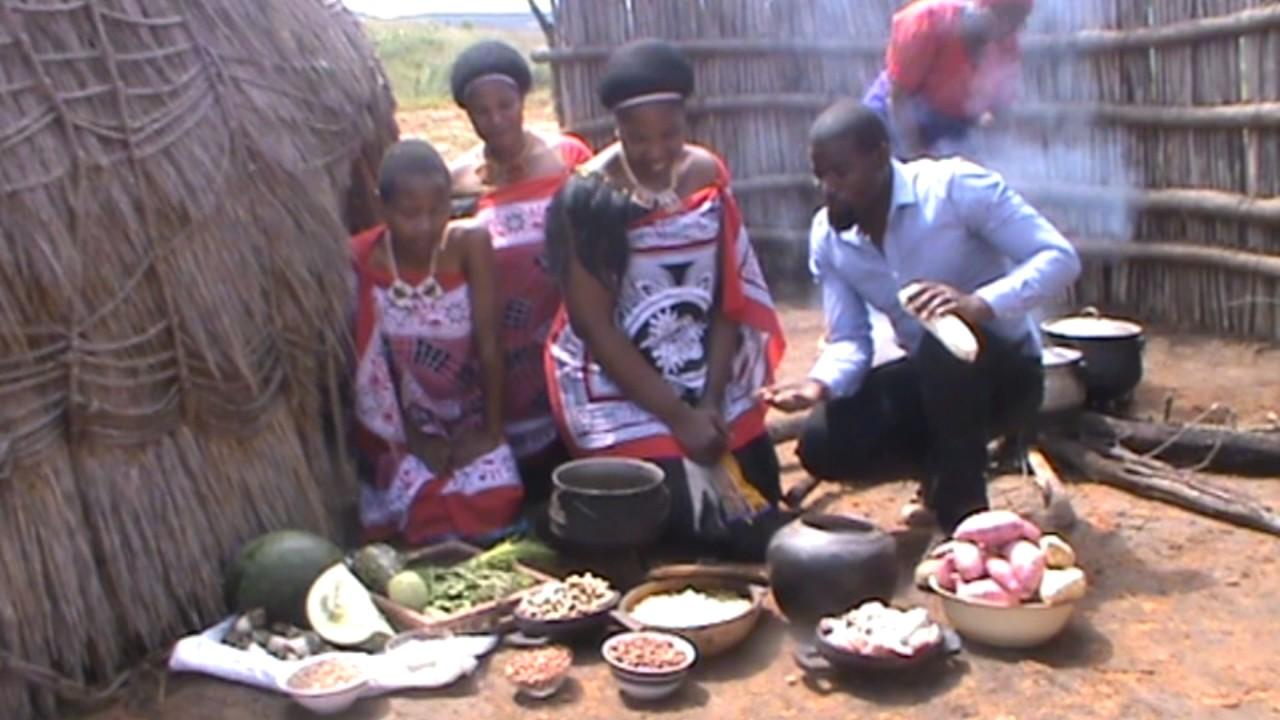 Swazi traditional food - YouTube