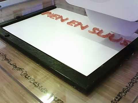 Magic Candy Factory! 3D print van je veganistische en gepersonaliseerde Rode Aardbei snoep!