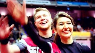 Titans Berlin Cheerleader bei der Tischtennis WM