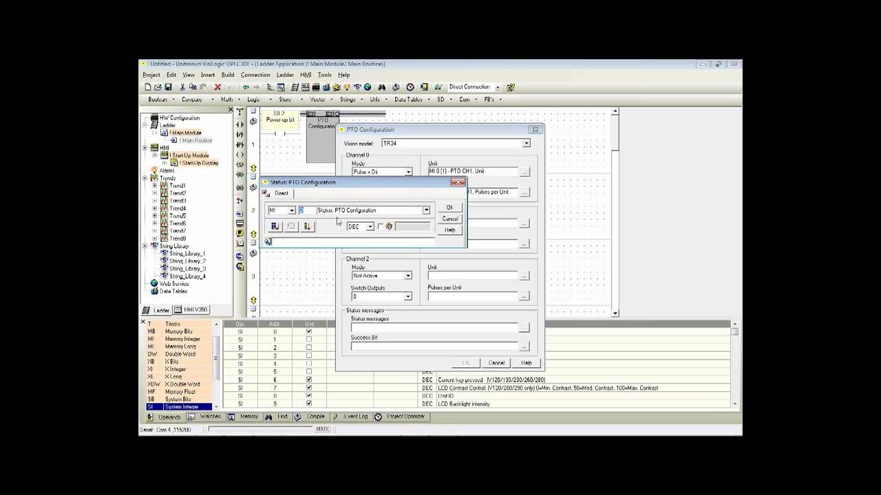 PTO Programming - Advanced - AllDrives and Controls