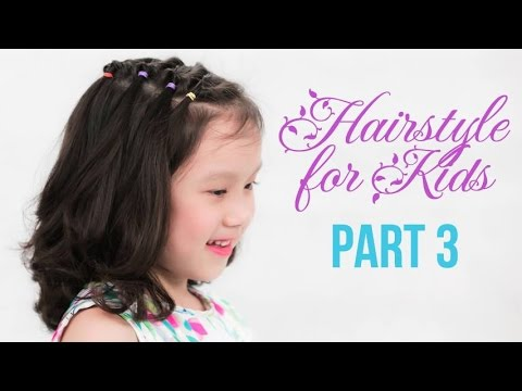 Cute Little Girl S Hairstyle Tutorial Quick And Easy Hairstyle