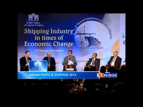 ET Now Feature - 8th International Shipping Conference on Ports and Shipping (2014)