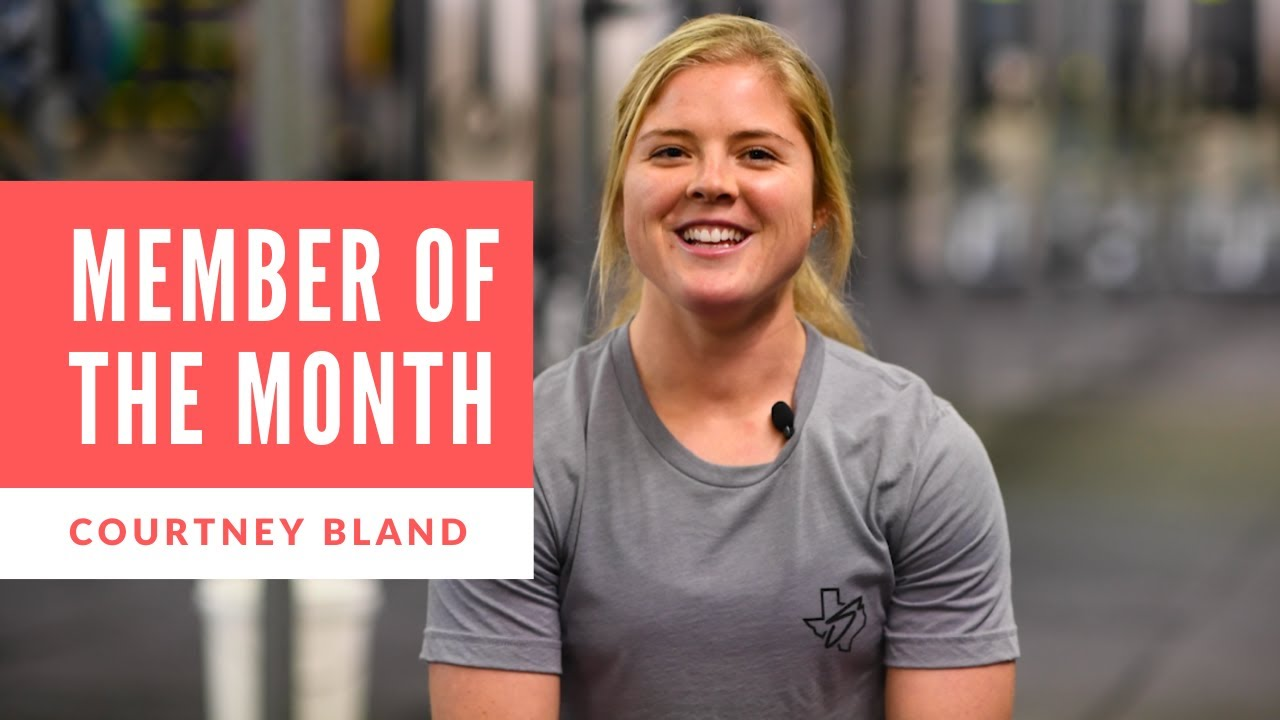 February Member of the Month - Courtney Bland