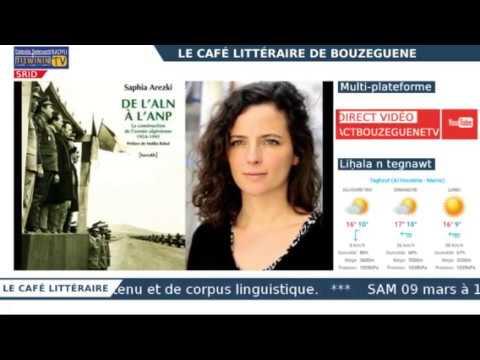 Le Café littéraire : Timlilit akked/Rencontre avec SAPHIA AREZKI - SRID / LIVE
